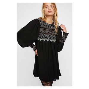 ✨ Free People Long-Sleeve Mini Dress ✨